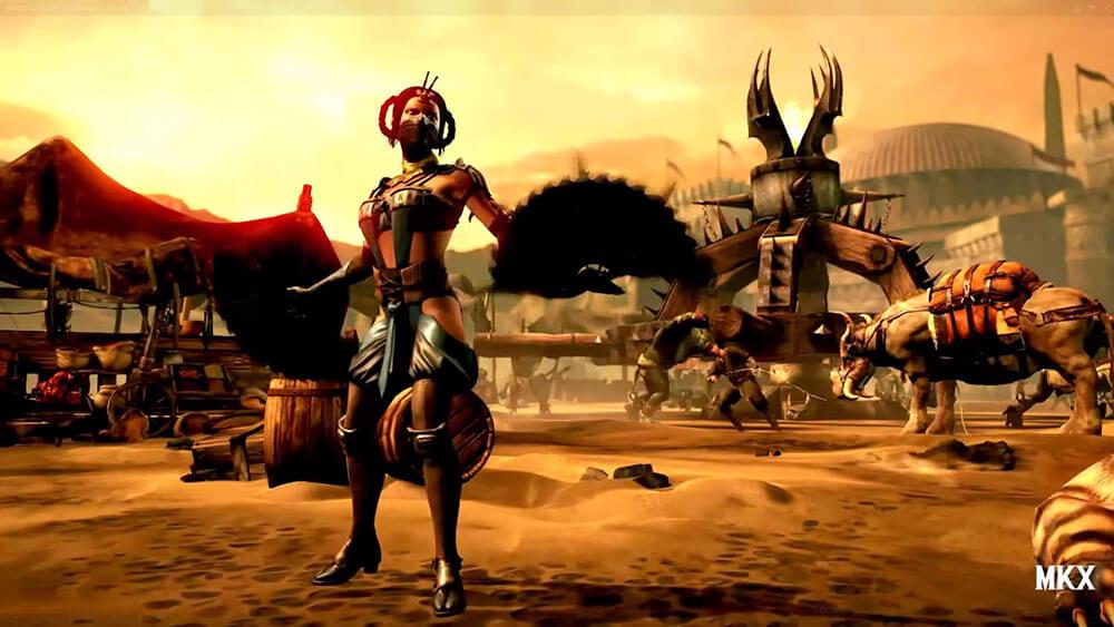 Mortal Kombat X Китана