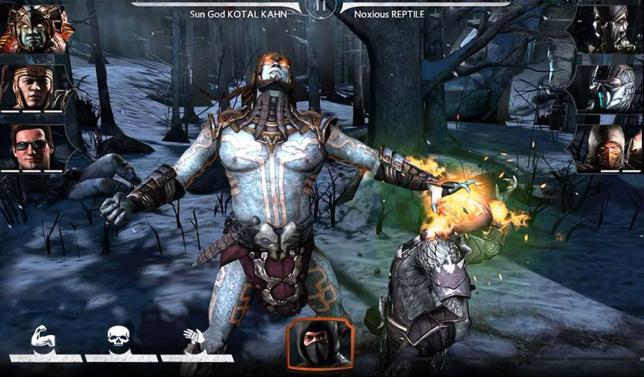 Mortal Kombat X на планшет