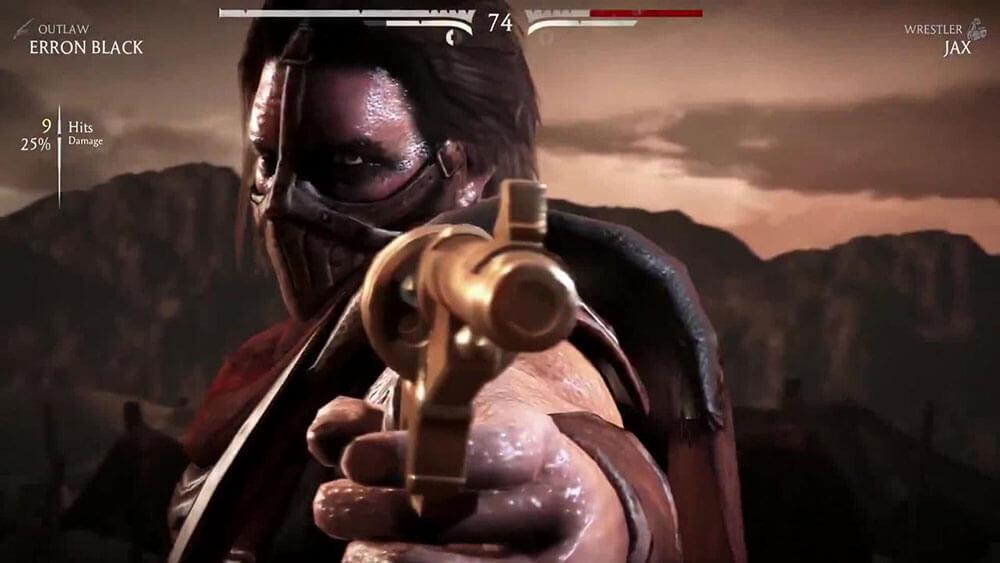 Mortal Kombat X Эррон Блэк