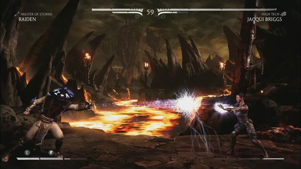 Mortal Kombat X Джэки Бриггс