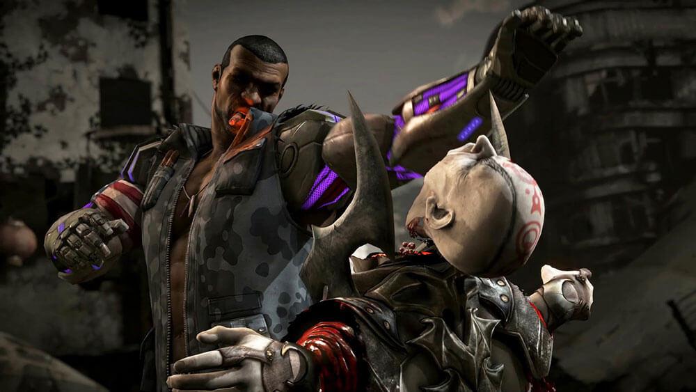 Mortal Kombat X Джакс