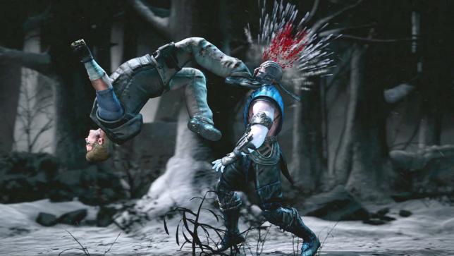 Mortal Kombat X Джонни Кейдж