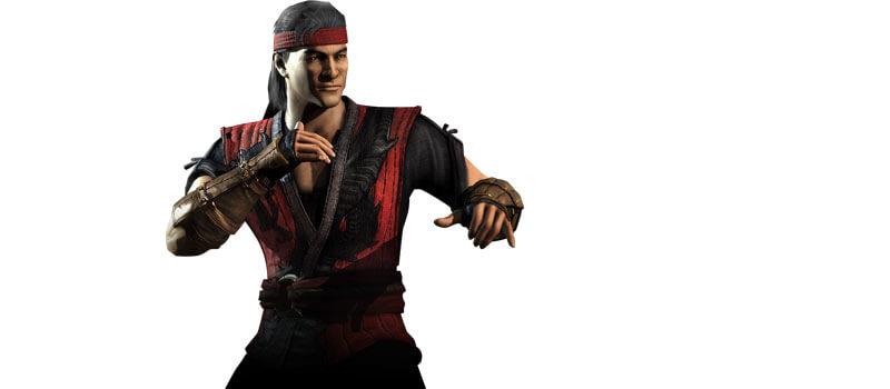 Mortal Kombat X Liu Kang