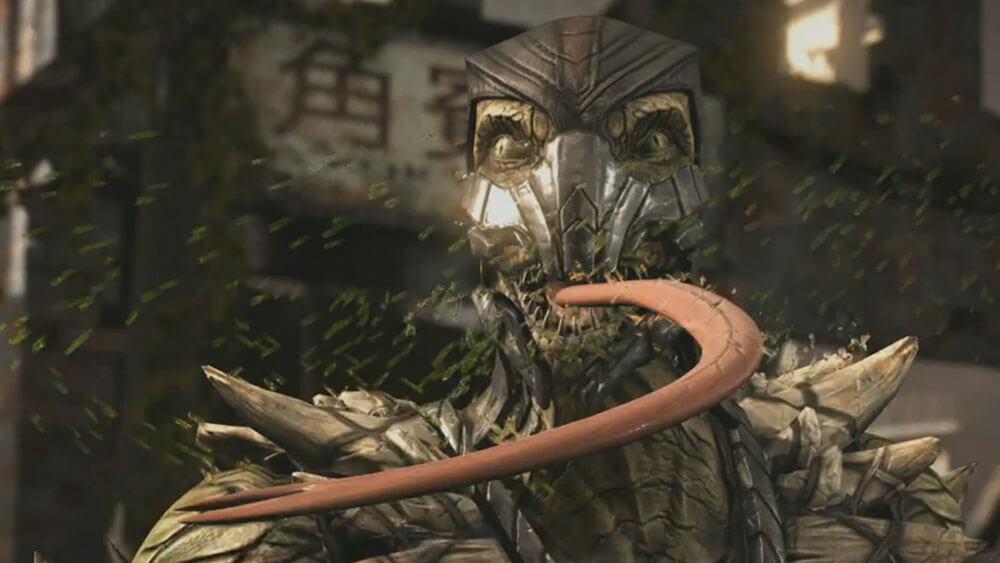 Mortal Kombat X Рептилия