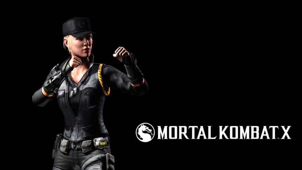 Mortal Kombat X Соня Блейд