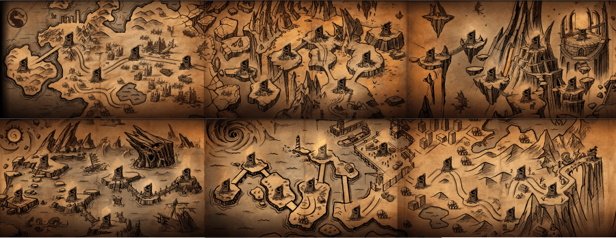 Карта Режима битвы в MKX Мобайл